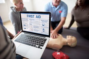 first aid and crp certification class